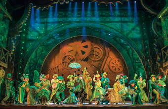 West End Musical Phenomenon Wicked Extends Booking Into 2017