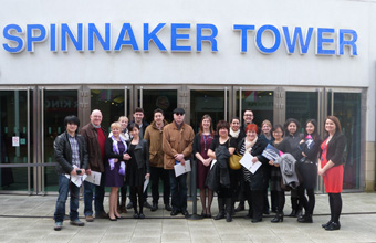 Spinnaker Tower hosts familiarisation trip