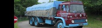 Over 300 classic lorries go on display at the 'Classic & Vintage Commercial Show'