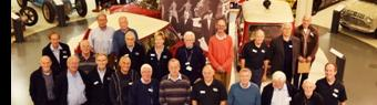 Double celebration for volunteers at the British Motor Museum
